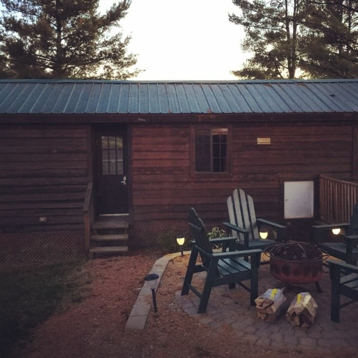 KOA Hocking Hills Outdoorsman Cabin