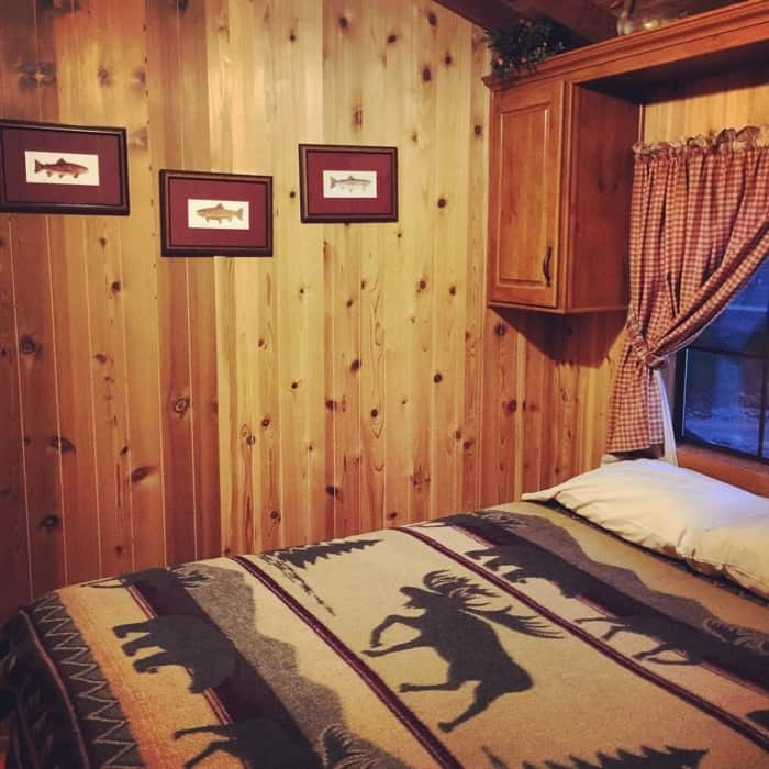 KOA Hocking Hills Cabin bedroom