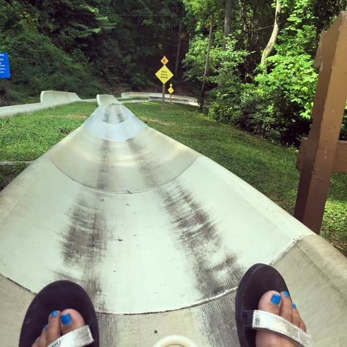 Ober Gatlinburg Alpine Slide
