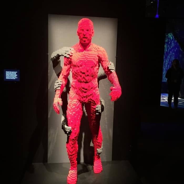 LEGO sculpture by Nathan Sawaya The Art of the Brick