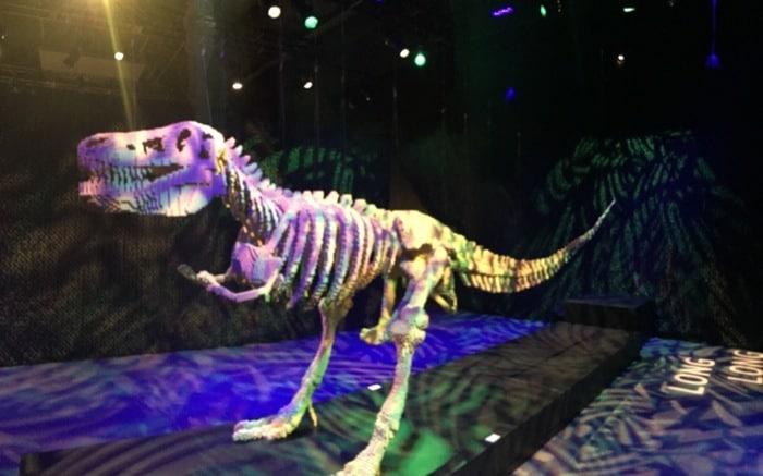 T - Rex by Nathan Sawaya The Art of the Brick Exhibit