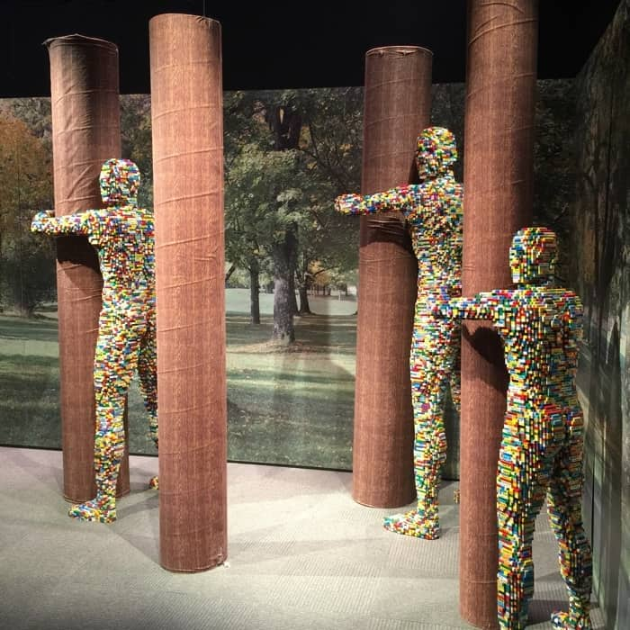 LEGO sculptures by Nathan Sawaya The Art of the Brick