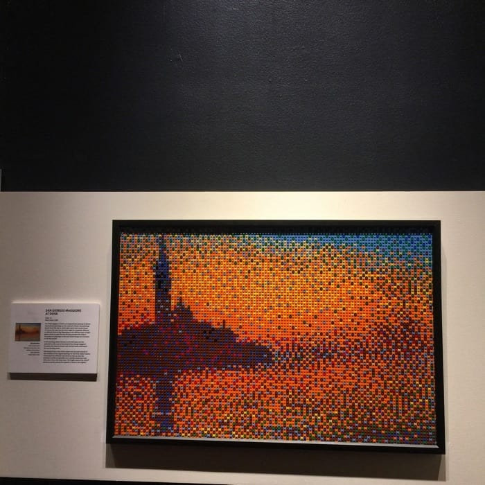 Van Gogh replica by Nathan Sawaya The Art of the Brick Exhibit