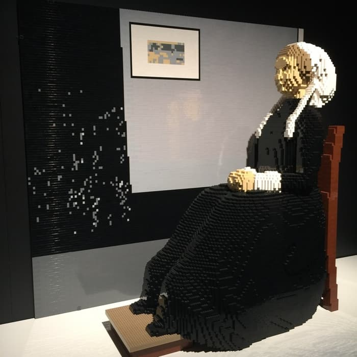 The Art of the Brick Exhibit