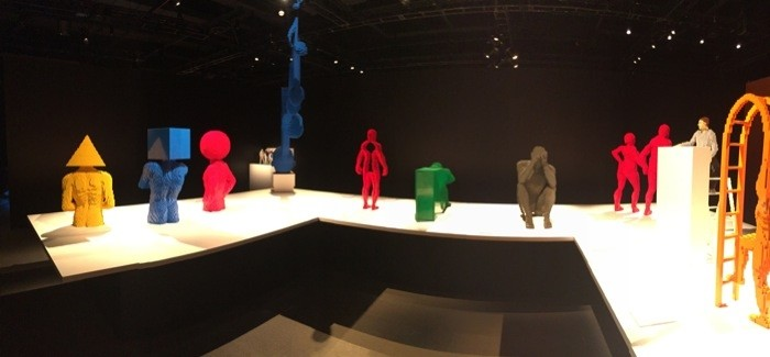 LEGO sculptures by Nathan SawayaThe Art of the Brick