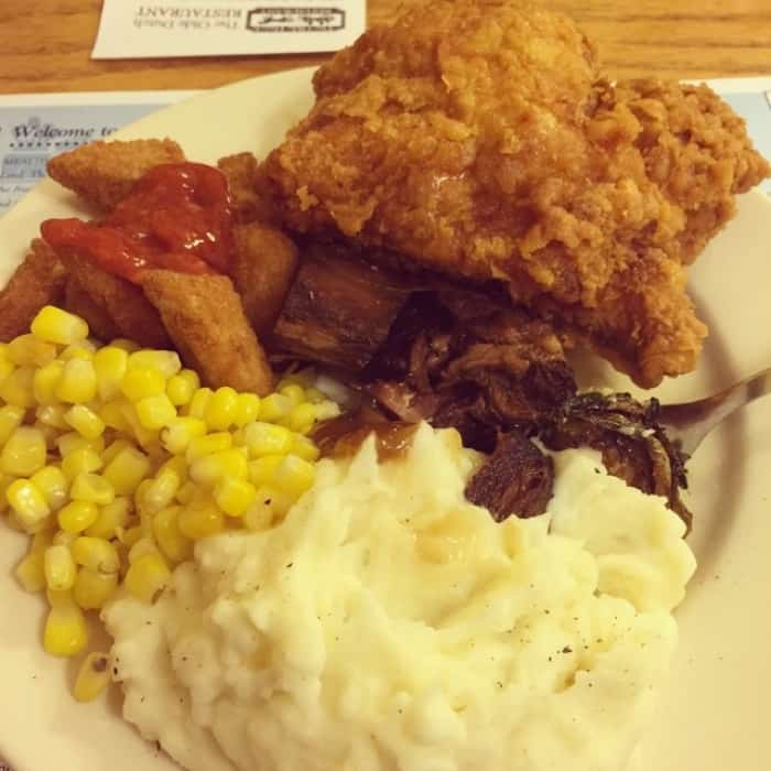 The Old Dutch Restaurant Meal