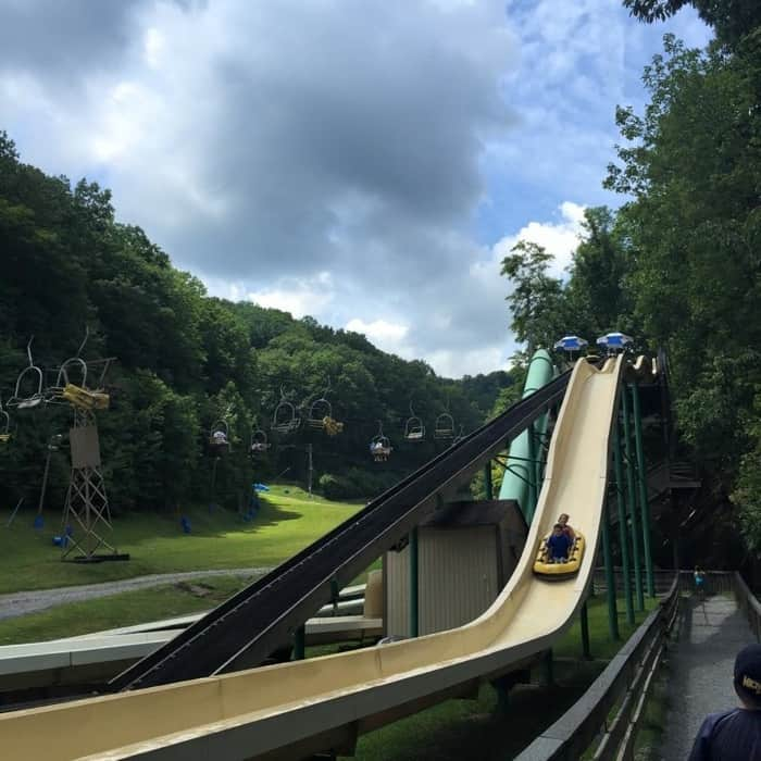 Water slide Ober Gatlinburg
