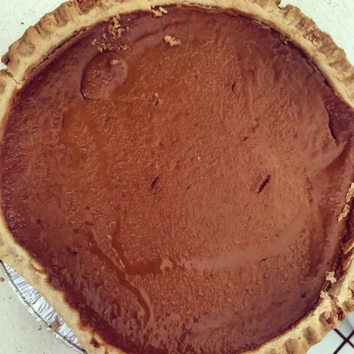 Whole Frisch's Pumpkin Pie