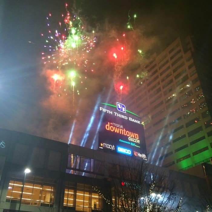 Fireworks at Macy's Downtown Dazzle