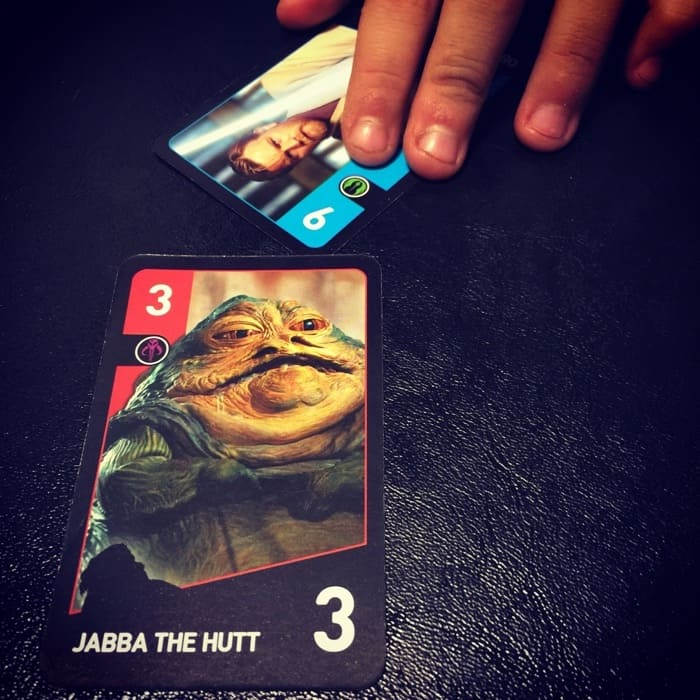 Playing Star Wars Duels Game