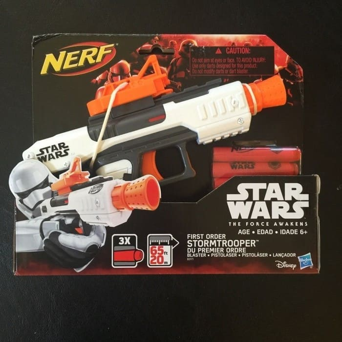 Star Wars Nerf Gun in box