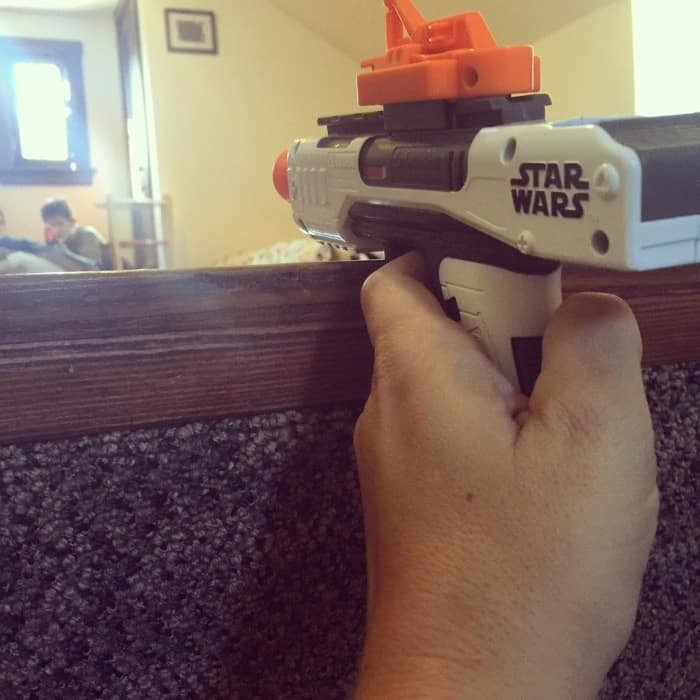 Star Wars themed Nerf war