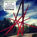 Why I love Pyramid Hill Sculpture Park year round