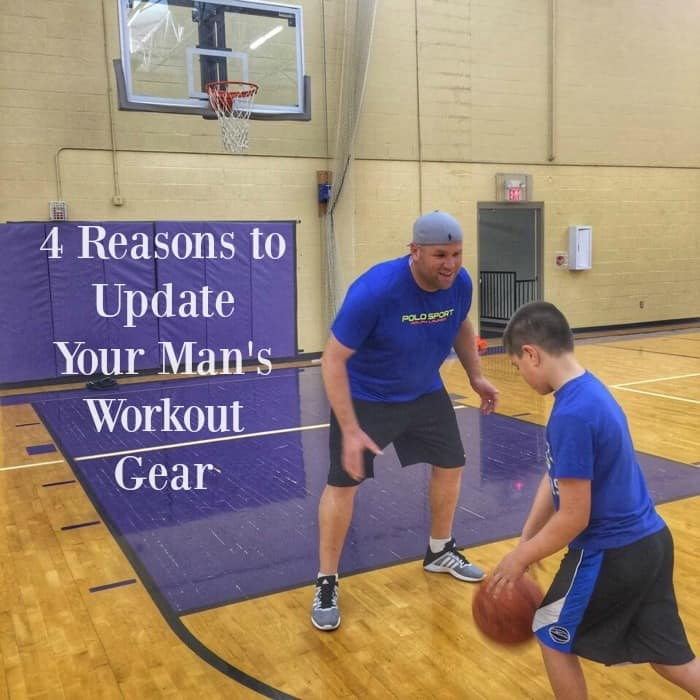 4 Reasons to Update Your Man's Workout Gear