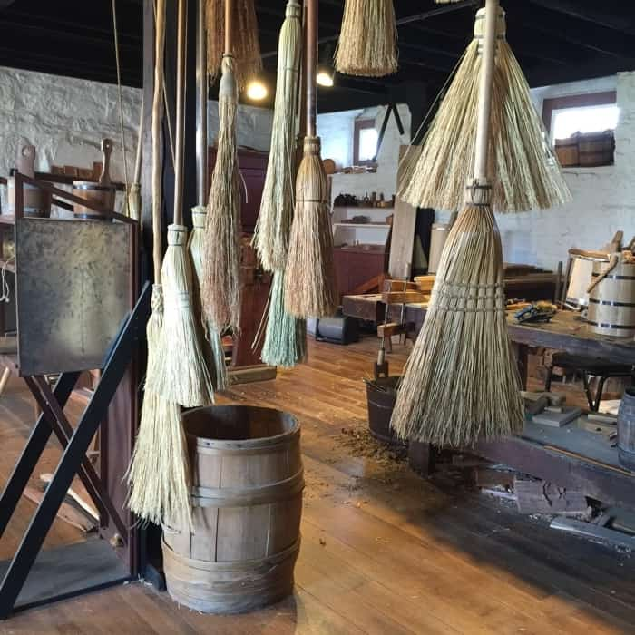 Brooms at Shaker Village