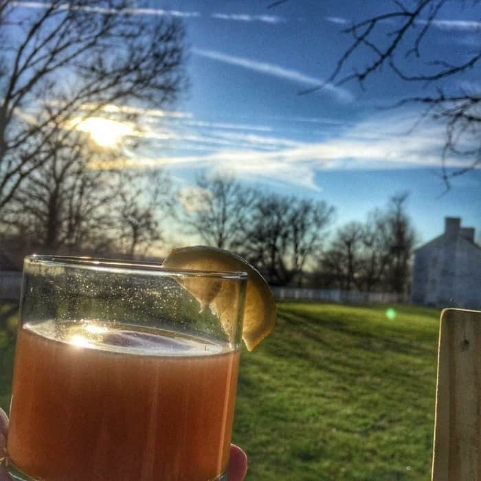 Drink at Shaker Village