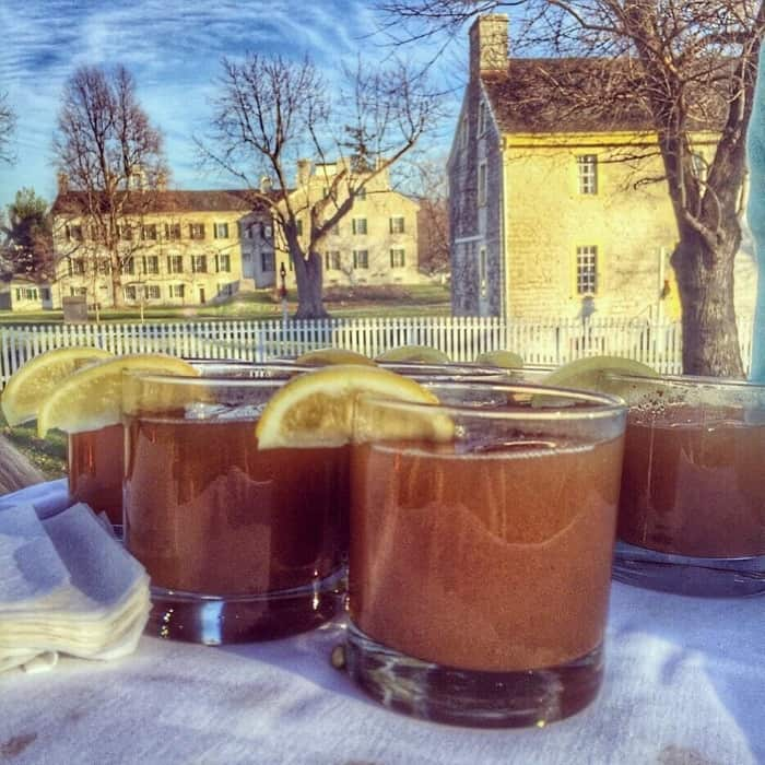 Drinks and hayrides Shaker Village