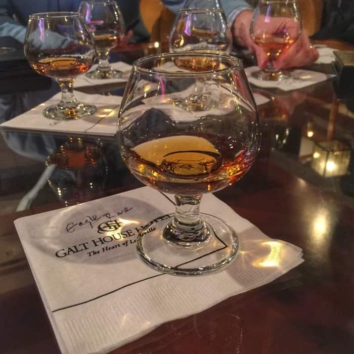 Galt house bourbon tasting