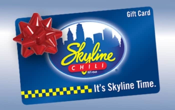 Skyline Chili Holiday Gift Card Giveaway