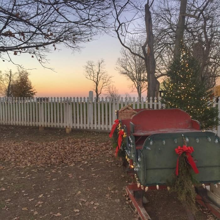 Holiday Sleigh at Shaker Village