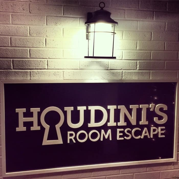 Beat the Clock at Houdini's Room Escape