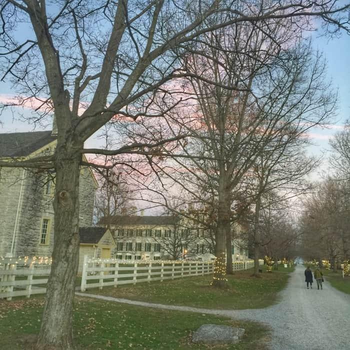 Shaker Village grounds