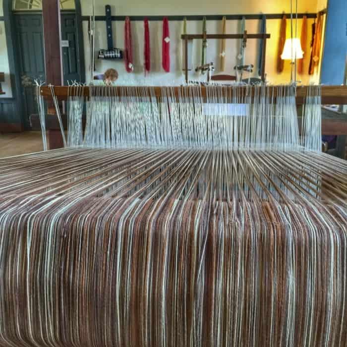 Shaker Village loom