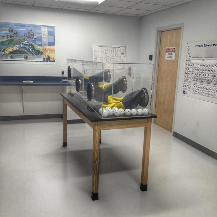 The Lab Challenge Room