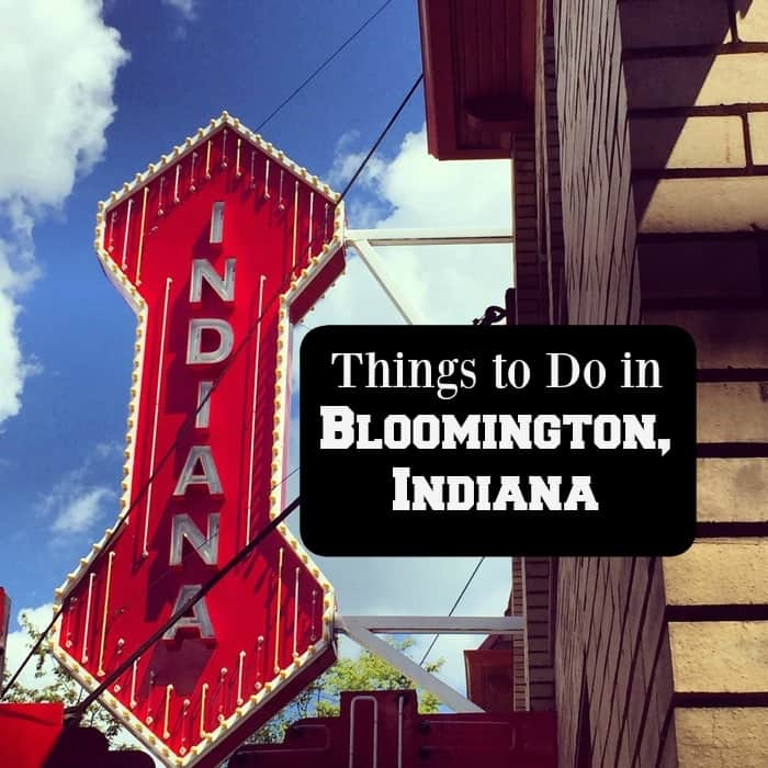 Places To Travel In December 2015: Things To Do In Bloomington, Indiana