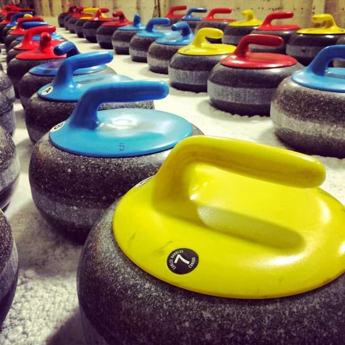 Learn to curl session with Cincinnati Curling Club
