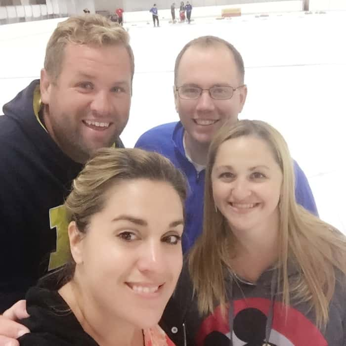 Double date Learn to Curl class