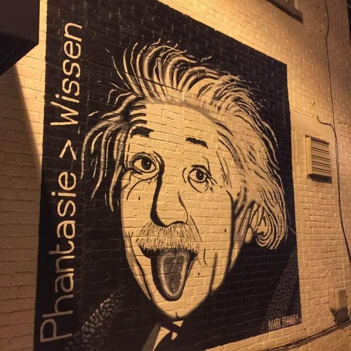 Einstein Mural