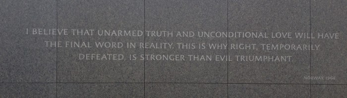 Martin Luther King Jr. Memorial Washington DC 11