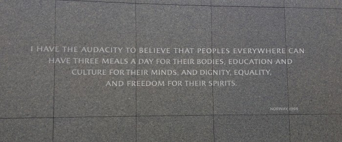 Martin Luther King Jr. Memorial Washington DC 8