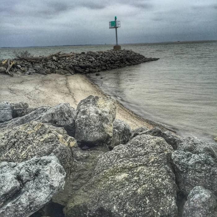 Maumee Bay pier