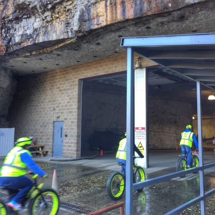 Mega Cavern Bike Tour