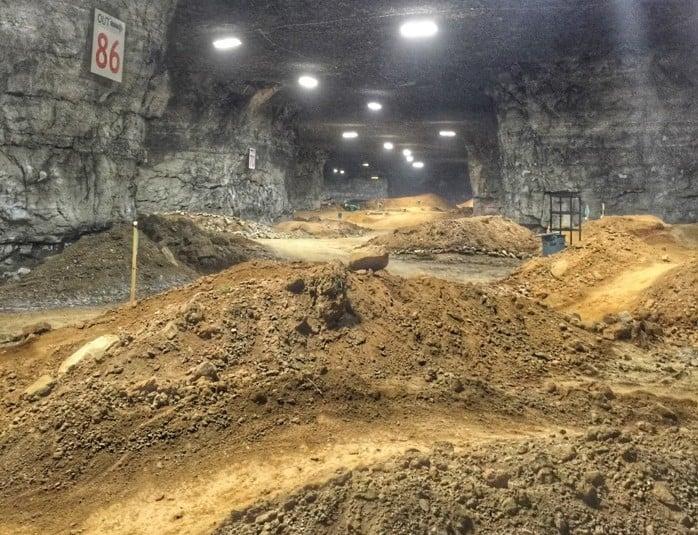 Underground Bike Park Mega Cavern