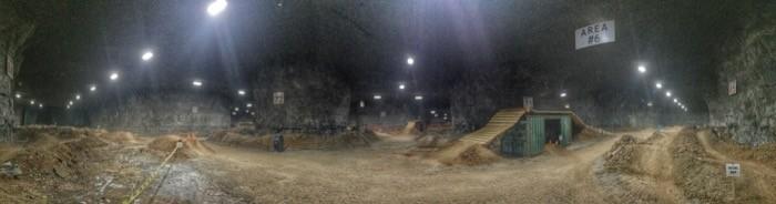 Underground Bike Park Mega Cavern 28