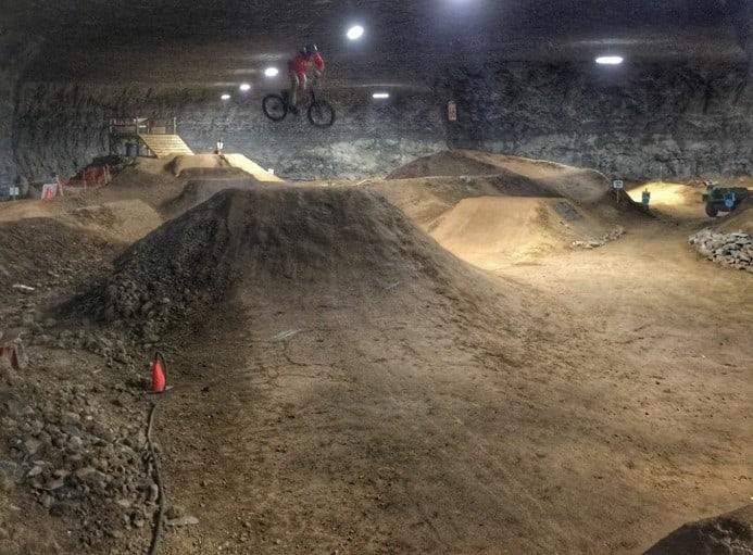Underground Bike Park Mega Cavern 7