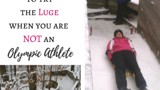 What it's like to try the Luge when you are not an Olympic Athlete