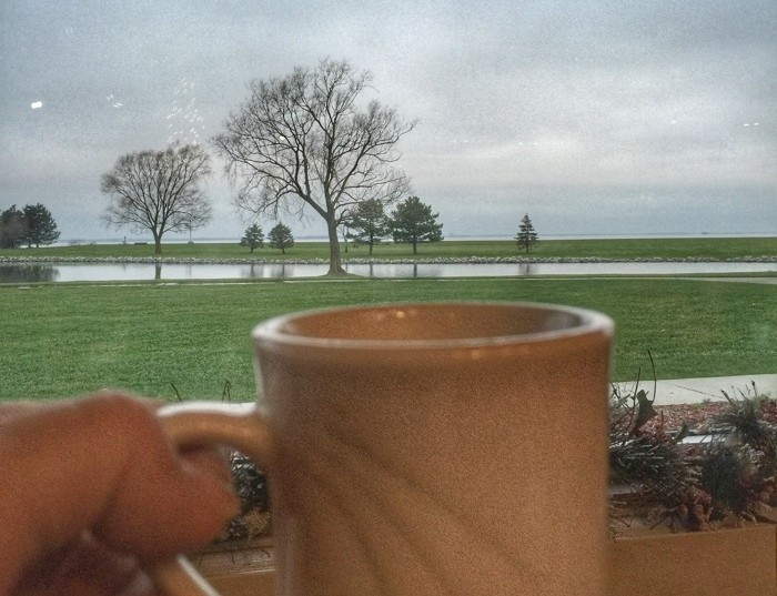 breakfast with view Maumee Bay Lodge
