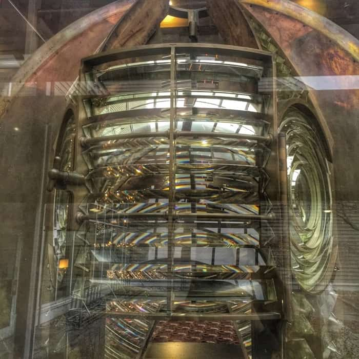lighthouse Fresnel Lens at Maumee Bay Lodge