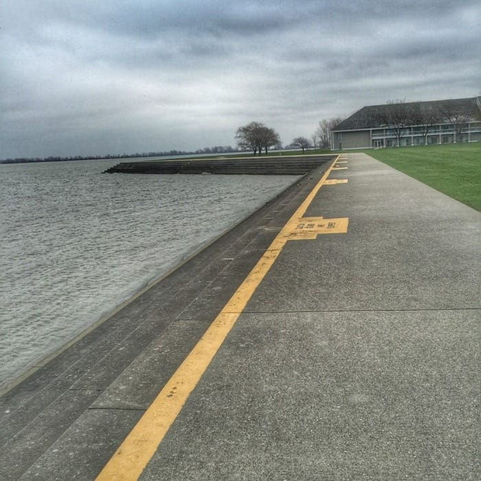path by the water Maumee Bay