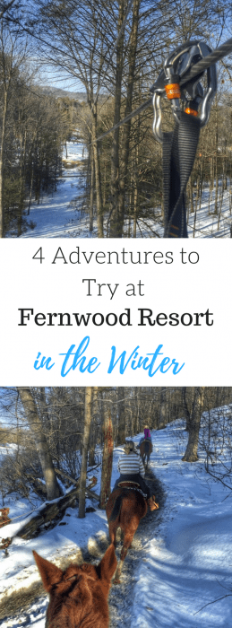 4 Adventures to Try at Fernwood Resort in the Winter