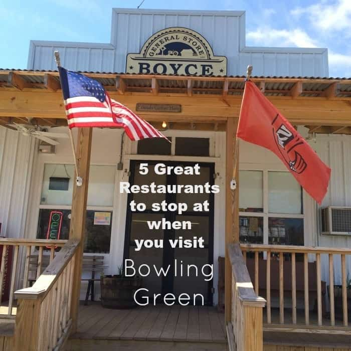 5 Great Restaurants to stop at when you visit Bowling Green