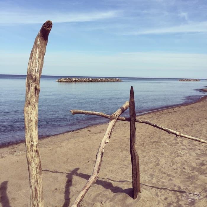 Beach #7 at Presque Isle in Erie, PA