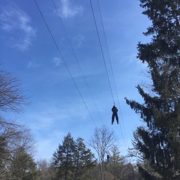 Fernwood Resort Zip Racer Zipline