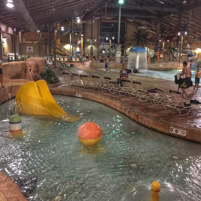 Kiddie Area at H2Oooohh Indoor Waterpark