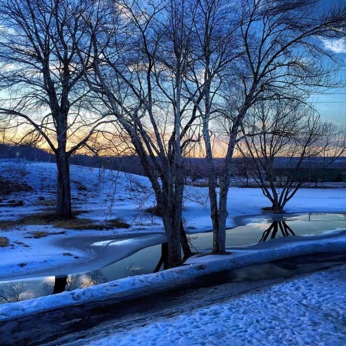 Sunset at Fernwood Resort