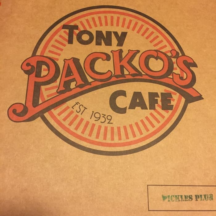 Tony Packo's box
